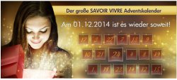 Der Grosse SAVOIR VIVRE Adventskalender @ Promondo.de
