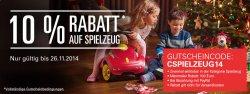 eBay: 10 Prozent Rabatt auf Spielzeug mit Gutscheincode