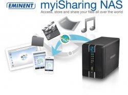 Eminent 2-bay NAS MyiShare für 49,95 € zzgl. 5,95 € Versand (153,39 € Idealo) @iBOOD Extra
