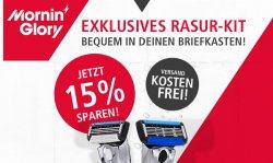 Exclusives Rasur Kit für 9 €uro & Versandkostenfrei @morninglory.com