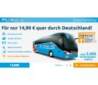 Für nur 14,90 € quer durch Deutschland @flixbus Gutschein Shop