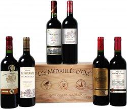 Goldprämierte Bordeaux-Selektion (6 Flaschen) für 24,99 € statt 99,99 € mit neuen Gutscheincode @Weinvorteil