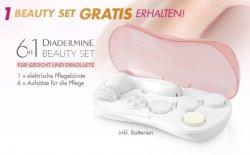 Große Diadermine Aktion: 2 Produkte kaufen – elektrische Pflegebürste mit 6 Aufsätzen gratis erhalten