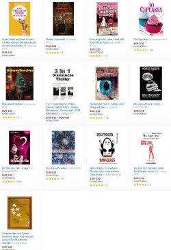 Heute 13 neue gratis-eBooks. zB. Advent-Rezepte oder der Krimi Wo bist du? Bewertung 4,7 Sterne