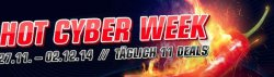 HOT CYBER WEEK ab 27.11.14 ab 12 Uhr, täglich 11 Deals @redcoon.de