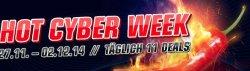 HOT CYBER WEEK ab 27.11.14 ab 12 Uhr, täglich 11 Deals @redcoon.de