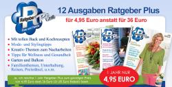 Jahresabo Ratgeber Plus für nur 4,95 € statt 36 € @ coyote.adindex.de