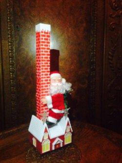 Kletternder und singender Weihnachtsmann 33cm für 6,99€ inkl. Versand @ebay