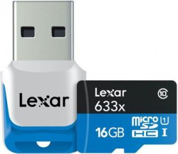 Lexar 16GB Class 10 Micro SDHC mit USB 3.0 Kartenleser @zavvi für 12.99€ (idealo: 17,98€)