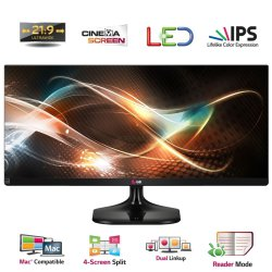 LG 25UM55-P 25 Zoll Ultra Wide LED Monitor für 139,90 € (193 € Idealo) @eBay