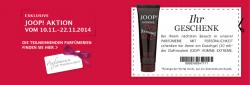 [LOKAL] Kostenlos: Body Lotion Der Duftneuheit Jil Sander (30ml) & Duschgel von Joop Homme Extreme