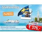 Mini Schweden Kreuzfahrt 4 Tage im 4* Hotel, Frühstück für 2 Personen statt 752€ nur 376€