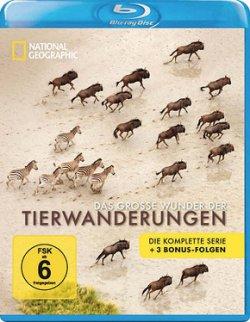 National Geographic – Das große Wunder der Tierwanderungen 2 Blu-rays (322 Min.) @terrashop für 5,99€ (idealo: 18,99€)