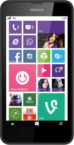 Nokia Lumia 630 Dual SIM @base für 99€ (idealo: 115,95€)