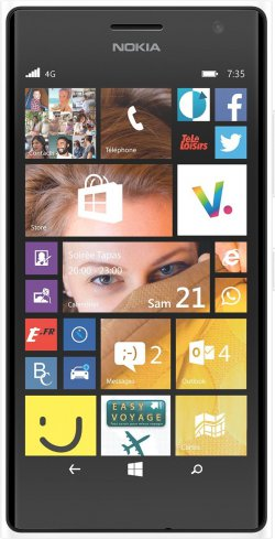 Nokia Lumia 735 LTE, 4,7 Zoll, Windows Phone, usw. @Amazon.fr für 197,39€ (idealo: 238,08€)