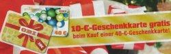 [LOKAL] OBI Coupon: 10€ Geschenkkarte gratis bei Kauf einer 40€ Geschenkkarte