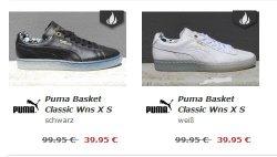 Puma Basket Classic Wns für 39,95 statt 74,90 €   (UVP 99,95) @ilovesneakers.de