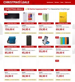 Rakuten Shop : Christmas Deal + 10 fach Punkte + kostenloser Versand z.b. Philips HD 7810/10 Senseo weiß Grau  für 47,99€ [idealo 52,85€]