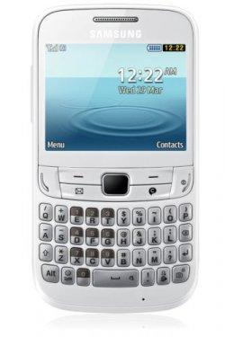 Samsung Chat 357 GT-S3570 – Ceramic Weiss für 19,99 € inkl. Versand [ idealo 31,95 € ] @ Ebay