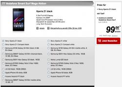 Smart Surf Mega Aktion inkl. Top Smartphones für 9,99€ mtl., teilweise aber mit einmaligen Kosten von 49-99€