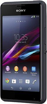 Sony Xperia E1, 4Zoll, HSPA+, UMTS, schwarz, usw. @base und @smartkauf für 69€ (idealo: 79,89€)