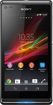 Sony Xperia L 10,9 cm (4,3 Zoll) Android 4.1 Smartphone mit Gutschein für 111 € (147,99 € Idealo) @Medion