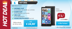 Sparhandy Hotdeal: Nokia Lumia 930 für 1 € + Internet Flat + Allnet Flat + SMS Flat für 24,90 € mtl.