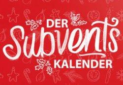 Subvents Kalender mit 24 Gutscheinen @Subway