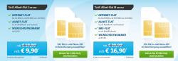 Telekom-Allnet-Flat mit 250MB für 9,90 € mtl., oder mit 500MB für 16,90 € mtl. @ Sparhandy