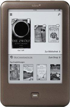 Tolino Shine E-Book Reader schwarz ab 59,46€ [idealo 98,72€] @Tchibo