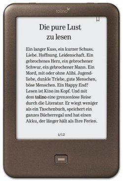 Tolino Shine E-Book Reader statt 99 € dank Gutschein kostenlos für 0 € @ eBook.de