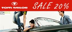 Tom Tailor Sale 20% Rabatt + 50% Extra – Rabatt durch Gutschein @zengoes-online