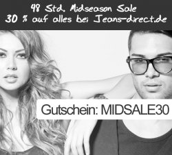 Über 80% Rabatt im Sale + 30% Extra-Rabatt mit MBW 40€ @Jeans-Direct