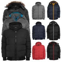 URBAN CLASSICS Herren Winter Jacke mit Kapuze für 29,90€ @ebay (idealo: 65€)