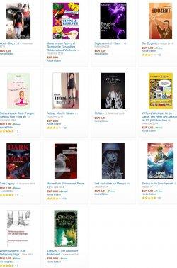 Vampirkrimi Dark Legacy (5*) ,der 4,2*-Thriller Auftrag: Mord! +12 weitere eBooks heute Gratis