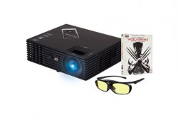 Viewsonic PJD7820HD Beamer Full HD mit 3D-Brille und Wolverine 3D Blu-Ray für 466,86 € inkl. Versand @Amazon.co.uk