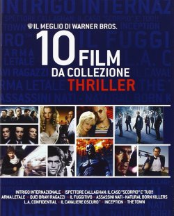 Warner Brother Blu-ray-THRILLER Box mit 10 Top Filmen für 22,47€ inkl. Versand @amazon.it