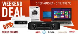 Weekend Deals @Cyberport – alle Angebote unter Idealo Best-Preis! z.B. Marantz NR1605 7.1 AV-Netzwerk-Receiver für 499 € (675,95 € Idealo)