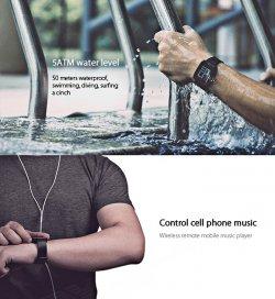 Weloop Tommy 1,26 Zoll LCD-Screen-intelligentes Bluetooth-Uhr-Kamera-Fernbedienung Finden Telefon für 50,36€ inkl.Versand