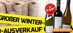 Winter-Ausverkauf mit bis zu 70% Rabatt + 2 Gutscheine @Weinvorteil