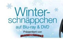 Winter Schnäppchen auf Blu rays und DVDs / Cyber Monday @ Amazon