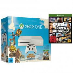 Xbox One 500GB inkl. Sunset Overdrive und GTA 5 für nur 399,-€ @redcoon