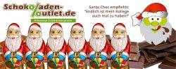 Zum ersten Mal im @schokoladen-outlet (Öko-Bruchschokolade): Bio-Schokoladen-Weihnachtsmann und frisch reinbekommen beliebte (und vegane) Sorten: Dunkle Kirsche, Dark & Noble,usw.