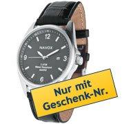 1 Gratis Artikel zu jeder Bestellung MBW 25 € z.b. Herren-Quarz-Armbanduhr Navox @Westfalia