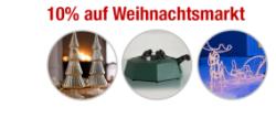 Nur Heute: 10% auf Weihnachtsmarkt-Artikel mit Gutschein @Plus.de, z.B. FHS Christbaumständer Start 3 für 20,48€ + Versand
