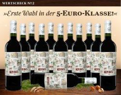 12 Flaschen Nembus Tinto 2013 für 33,90 €uro ( 43 % Rabatt) versandkostenfrei