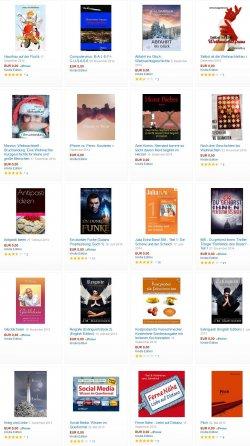 20 neue Gratis eBooks. zB  Hausfrau auf der Flucht, 5*, Printpreis: 12,50€ @Amazon