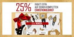 25 % Rabatt Extra auf deinen gesamten CHRISTKINDLEBRIEF @ Kolibrishop