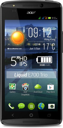 3-SIM-Karten-Android-Smartphone Acer Liquid E700 Trio für 155 € statt 180 € in den Blitzangeboten bei amazon.fr