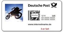 3 x 0,60 Cent Briefmarken für 1,01€ per Email Versand @ebay
